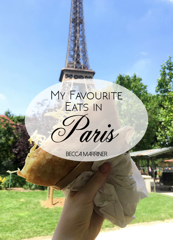 Favourite Paris Eats