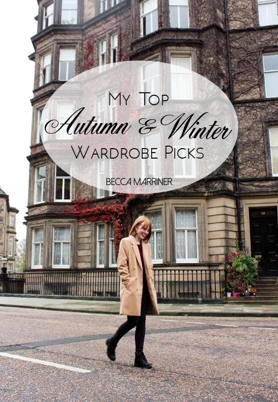 Autumn & Winter Wardrobe Picks
