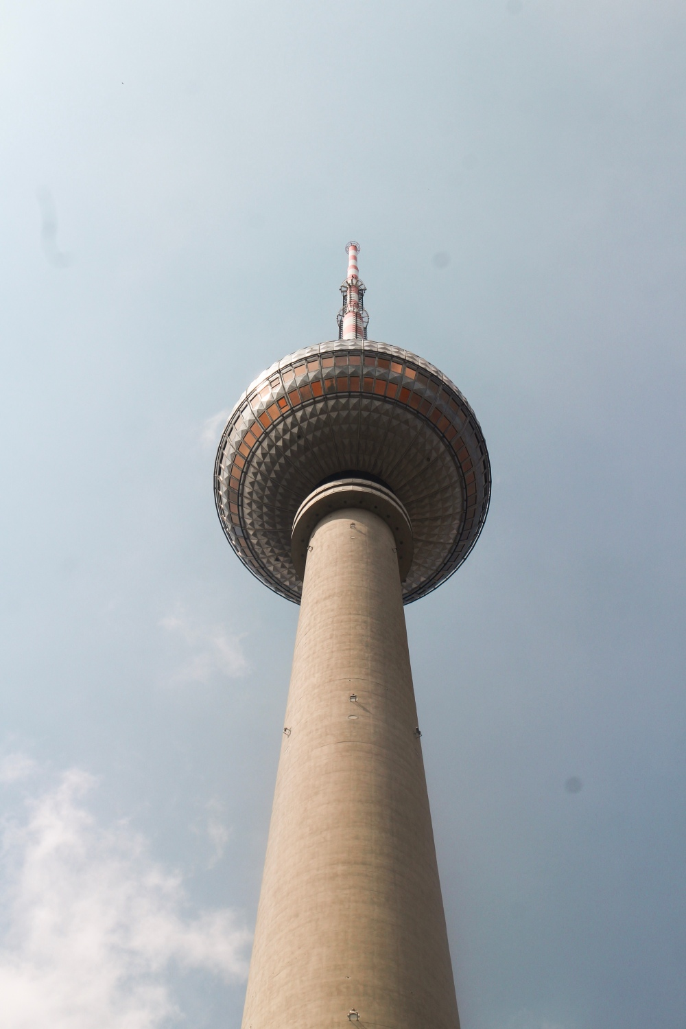 A view of the Berlin TV Tower