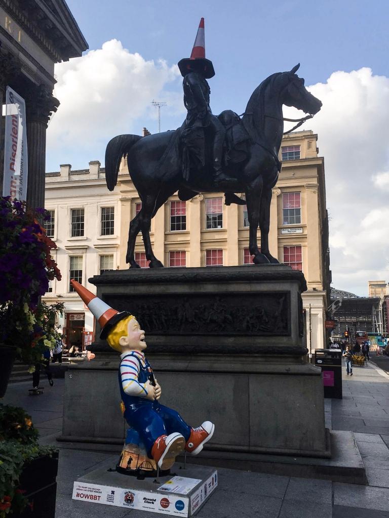 Oor Wullie's Big Bucket Trail: Oor Wee Yin's Banter, Glasgow