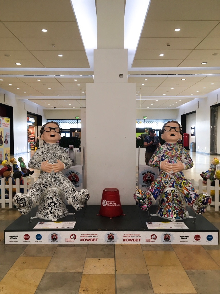 Oor Wullie's Big Bucket Trail: Oor Proclaimers 1 & 2, Edinburgh