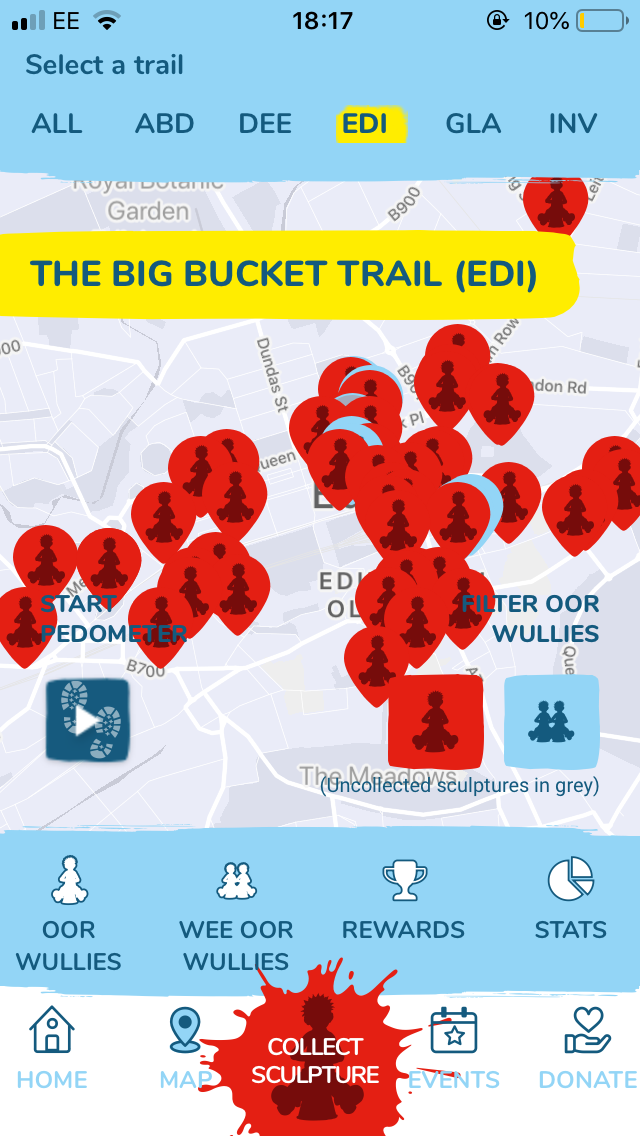 Oor Wullie Big Bucket Trail Map
