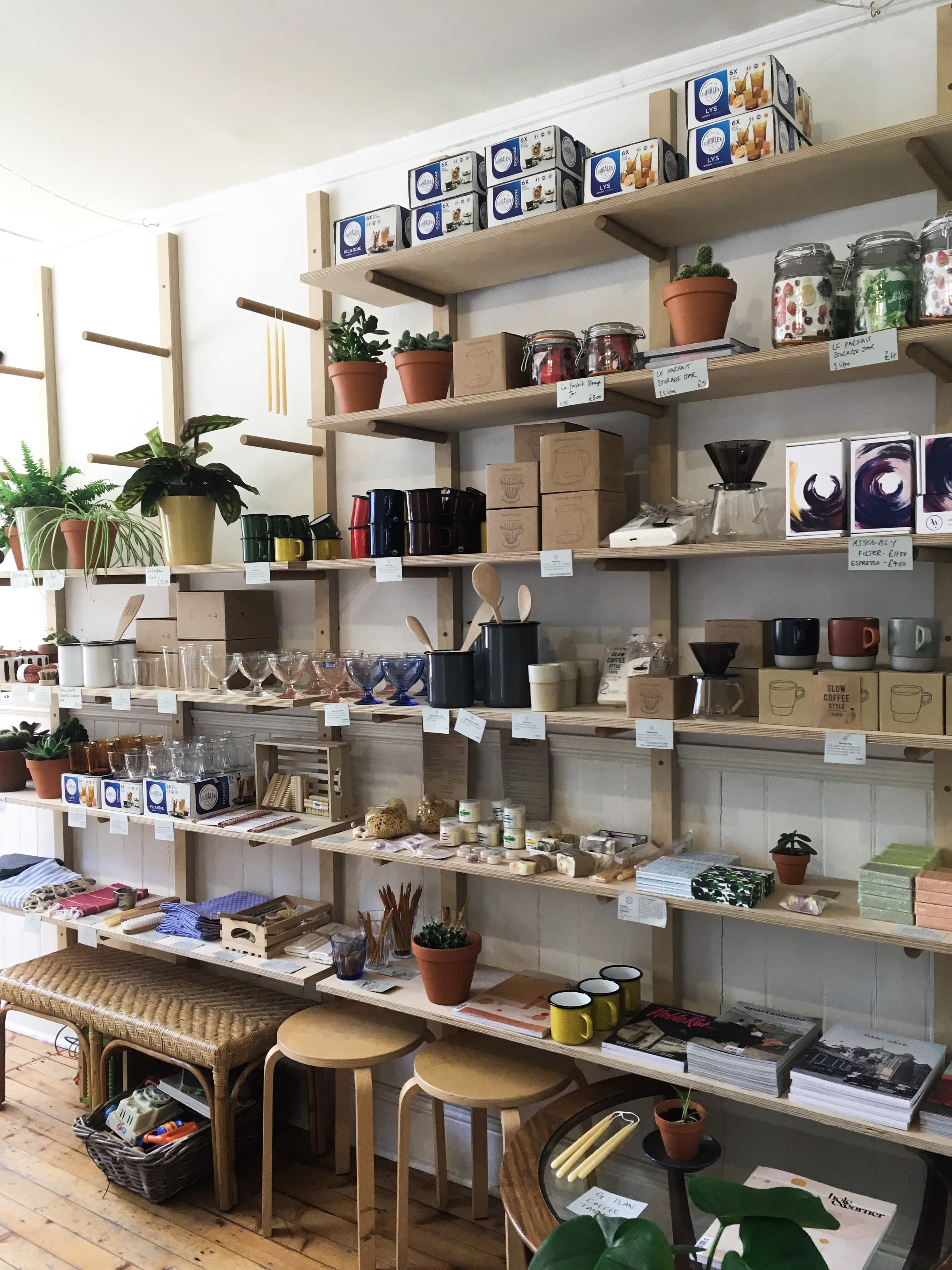 My Favourite Places to Plant Shop in Edinburgh: Century General Store