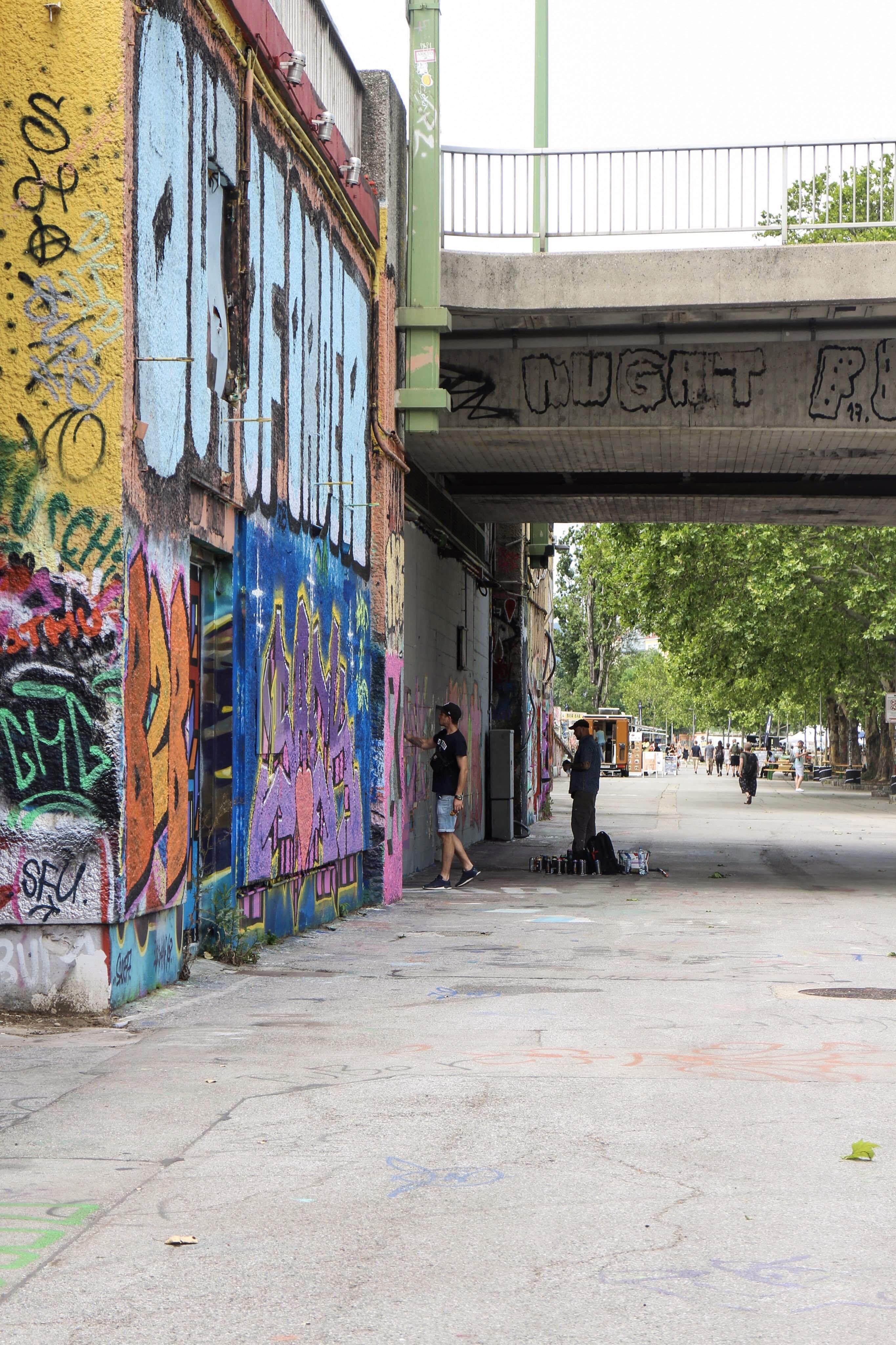 Three Perfect Days in Vienna: Vienna street art
