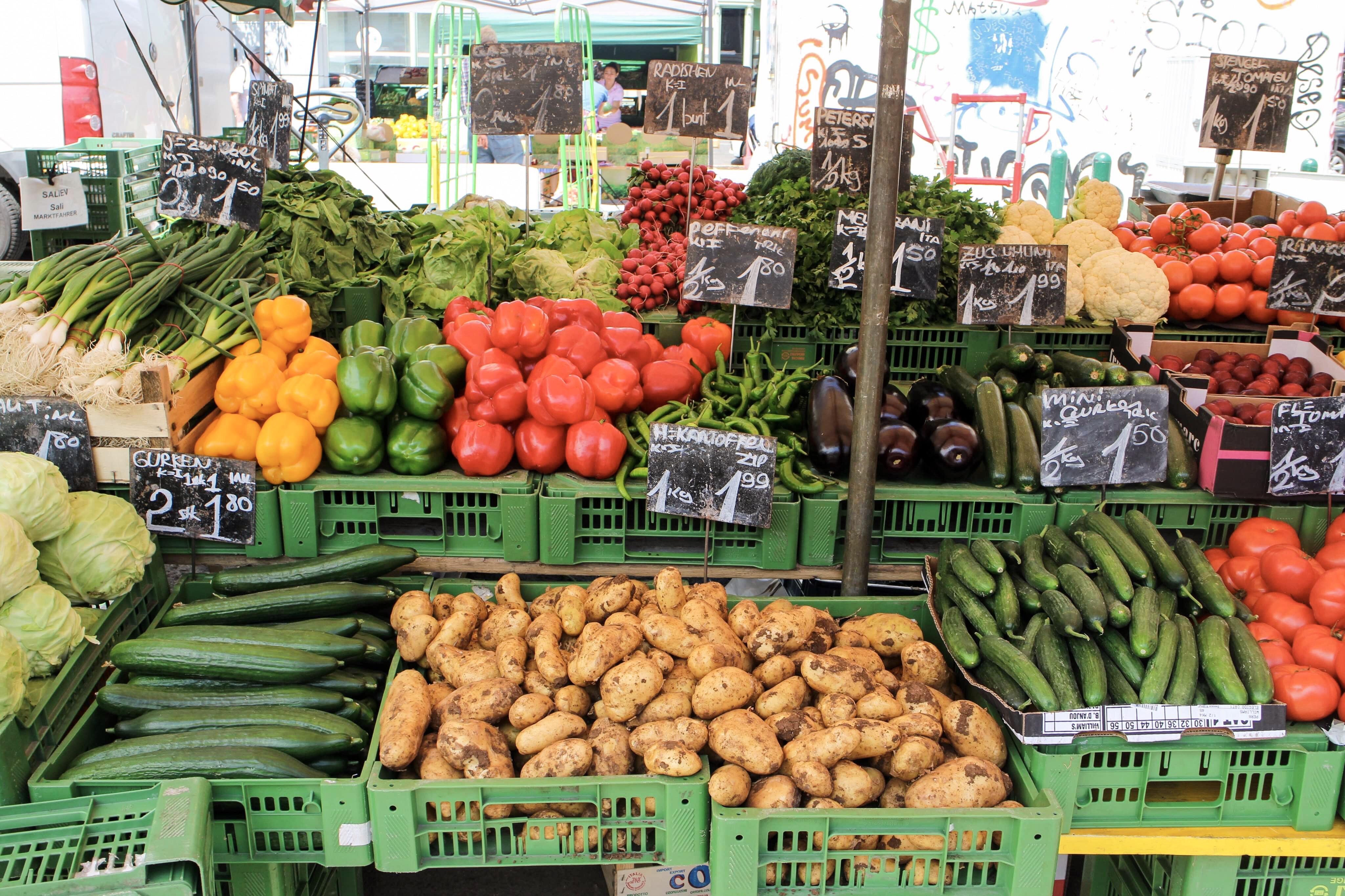 Three Perfect Days in Vienna: Naschmarket