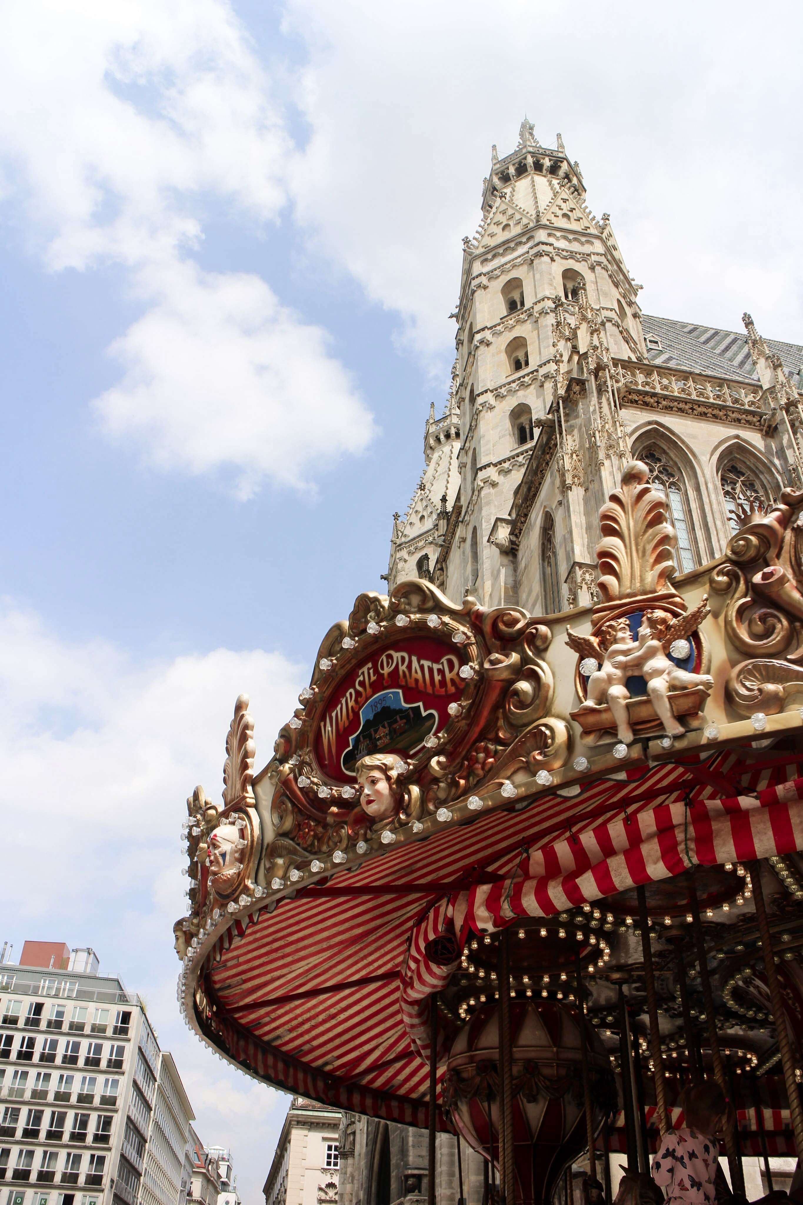 Three Perfect Days in Vienna: Stephansdom and carousel