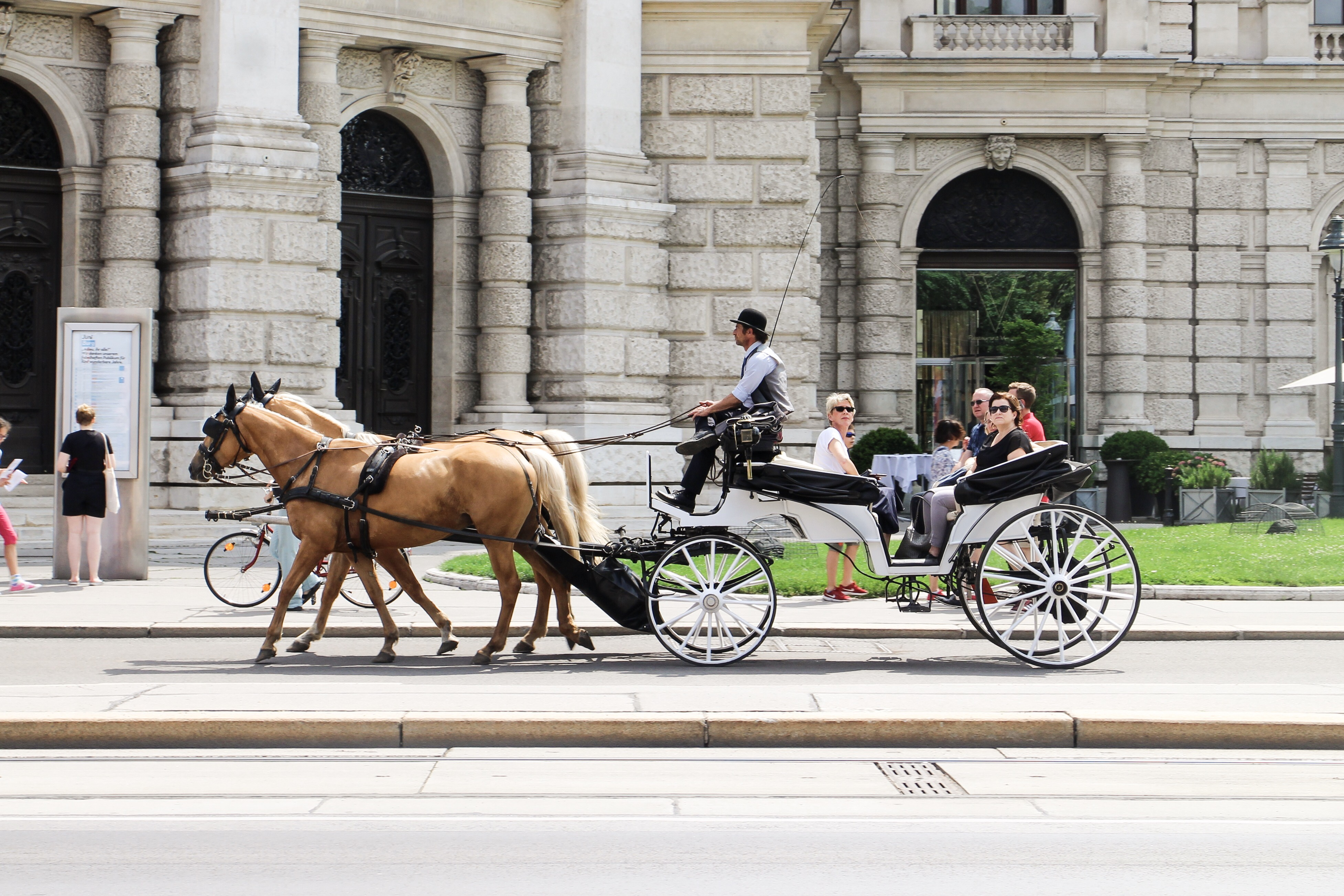 Three Perfect Days in Vienna: Horse-drawn cariage