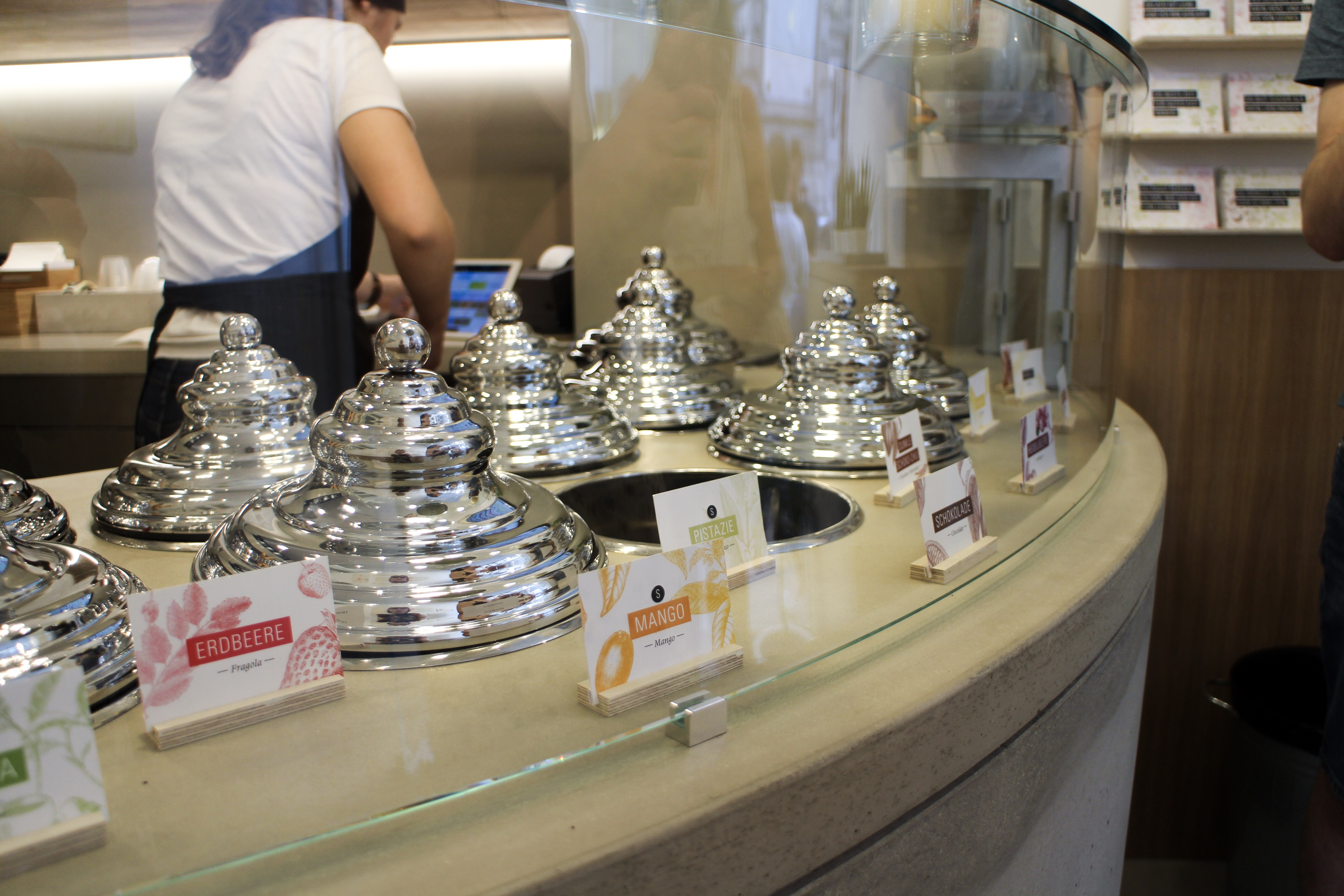 Three Perfect Days in Vienna: Ice cream at Leones Gelato